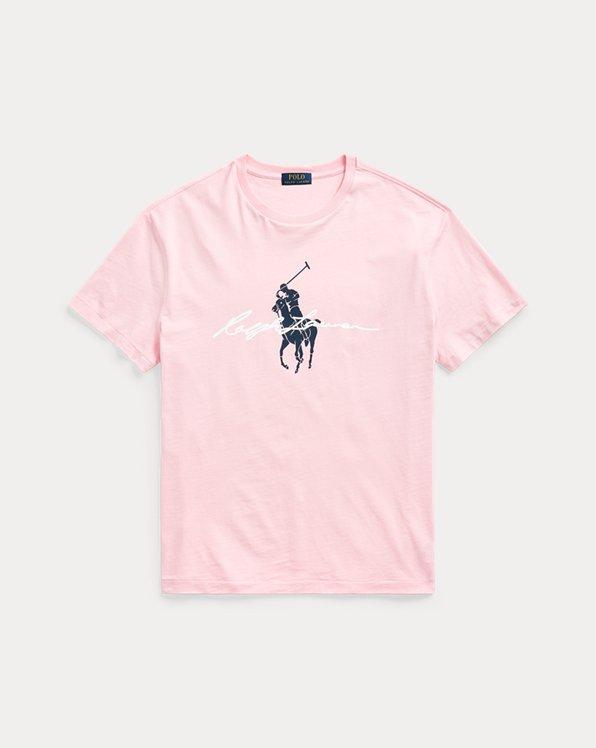 Classic Fit Big Pony Logo Jersey T-Shirt