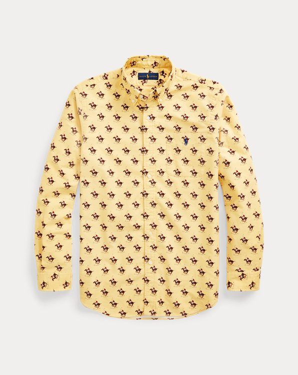 Classic Fit Polo Player Oxford Shirt