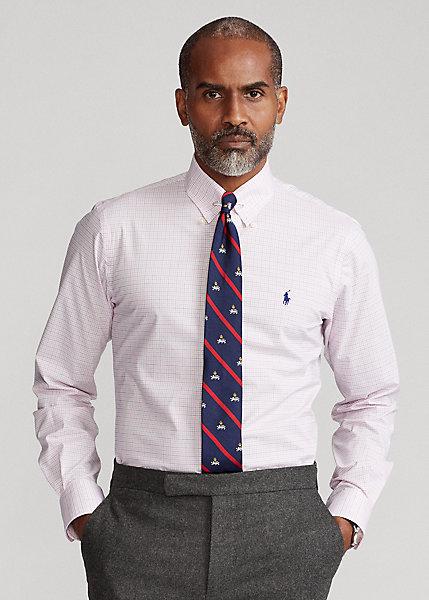 Polo Ralph Lauren Custom Fit Plaid Poplin Shirt