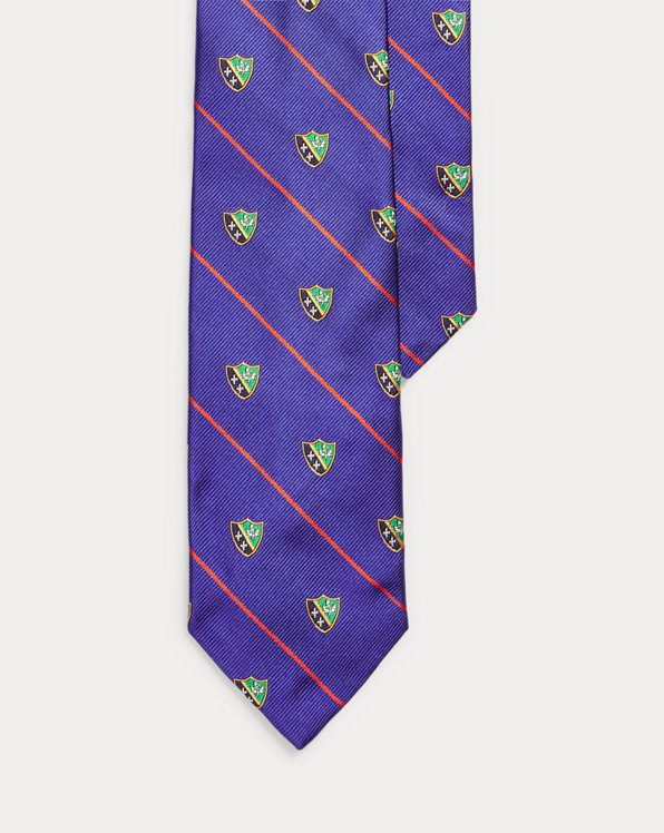 Crest Silk Narrow Tie
