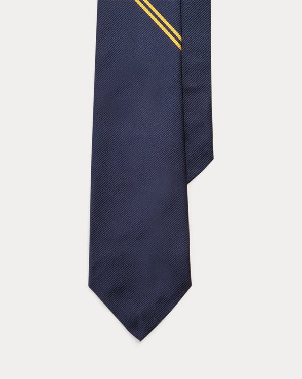 Crest Silk Tie