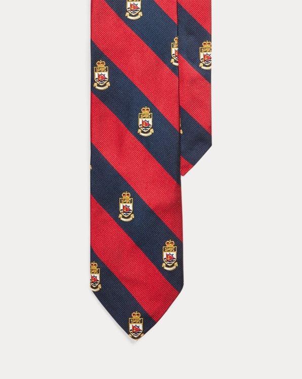 Crest Silk Narrow Tie
