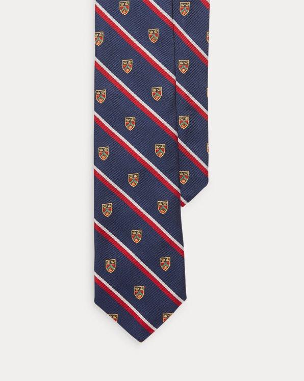 Cravatta Club in seta a righe