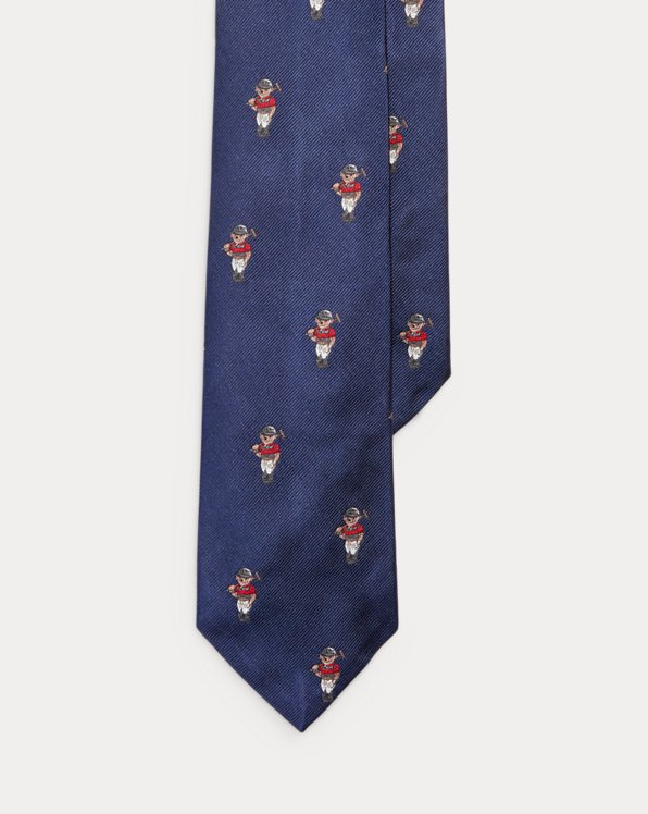 Polo Bear Silk Tie