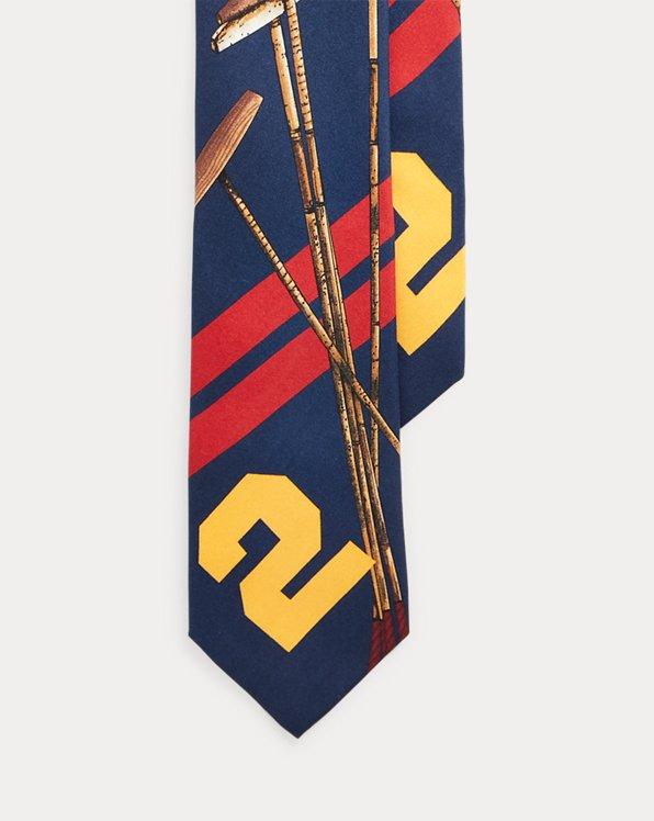 Polo Mallet Silk Tie