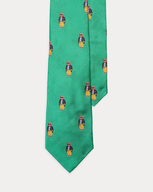 Polo Bear Silk Tie
