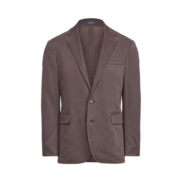 폴로 랄프로렌 Polo Ralph Lauren Polo Unconstructed Chino Suit Jacket,Grey Ghost