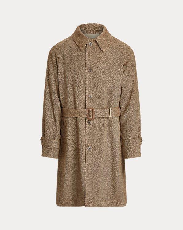 Reversible Balmacaan Coat