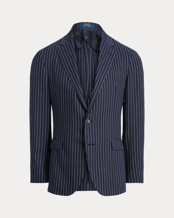 Polo Soft Pinstripe Twill Suit Jacket