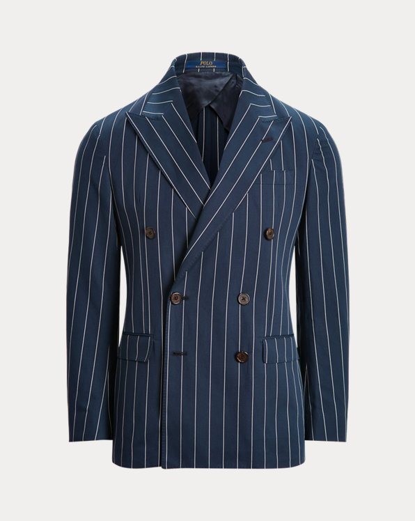 Polo Soft Striped Twill Suit Jacket