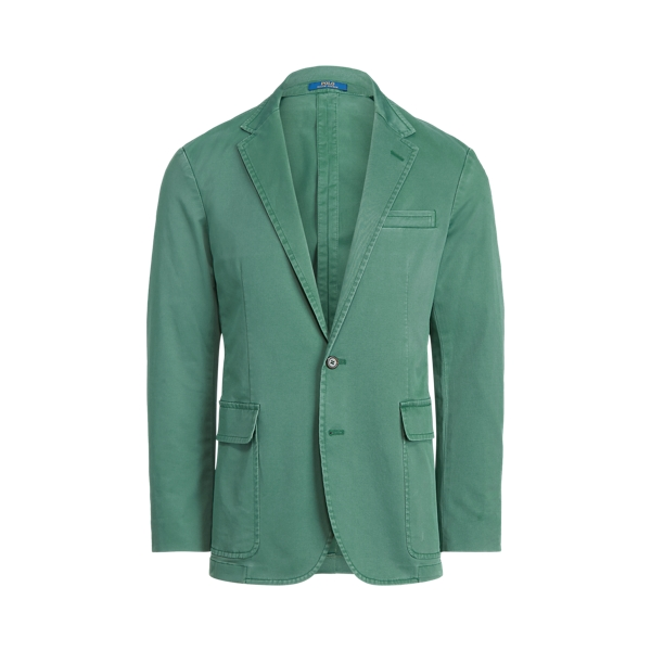 폴로 랄프로렌 Polo Ralph Lauren Polo Unconstructed Chino Suit Jacket,Washed Forest