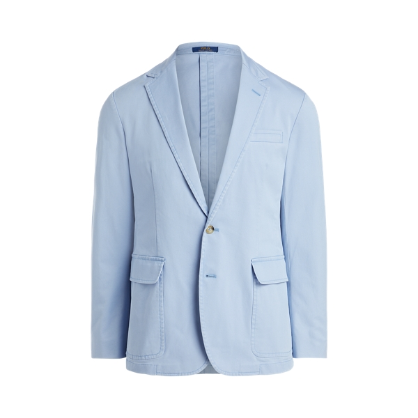폴로 랄프로렌 Polo Ralph Lauren Polo Unconstructed Stretch Suit Jacket,Chambray Blue