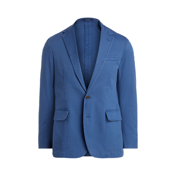 폴로 랄프로렌 Polo Ralph Lauren Polo Unconstructed Stretch Suit Jacket,Federal Blue