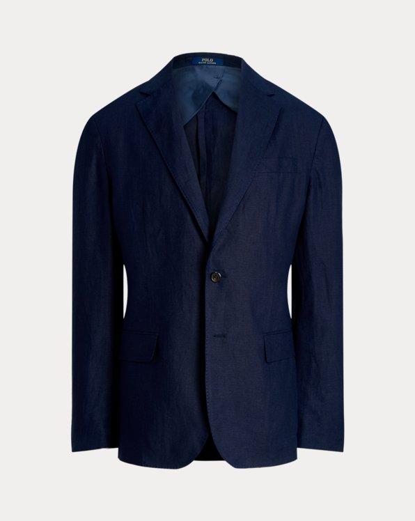 Polo Soft Slub Linen Suit Jacket