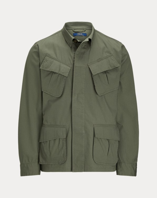 Stretch Ripstop Utility Suit Jacket