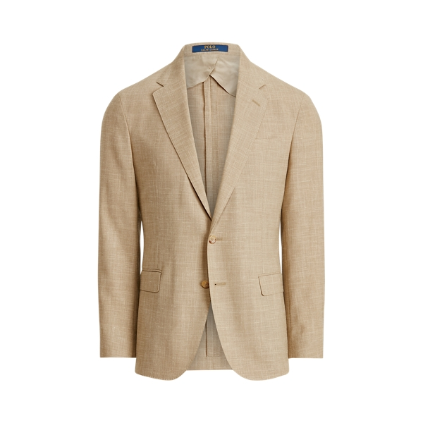 폴로 랄프로렌 Polo Ralph Lauren Polo Soft Textured Stretch Blazer,Tan