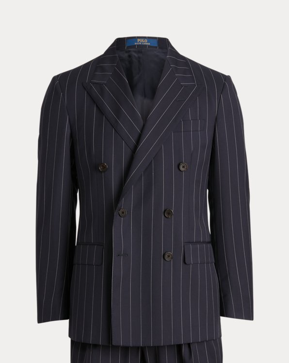 Polo Pinstripe Twill Suit