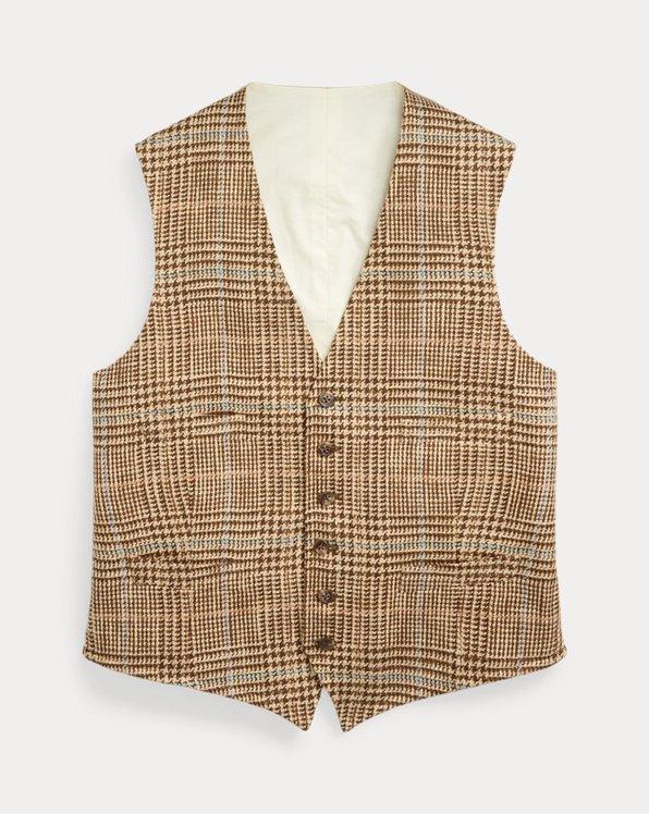 Glen Plaid Waistcoat