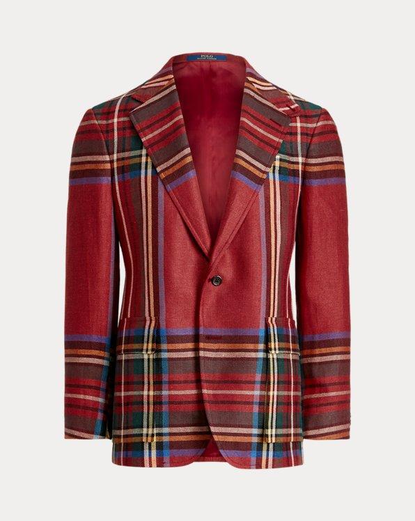 The RL67 Tartan Linen Jacket