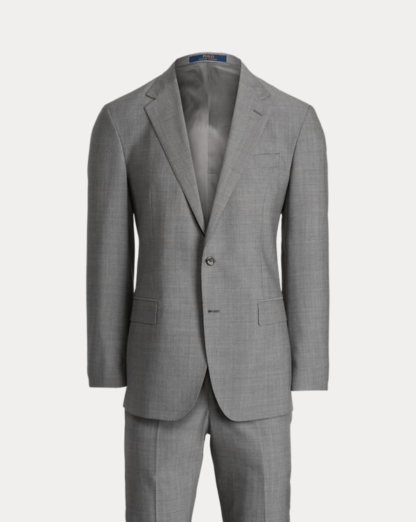 Polo Pin Dot Wool Suit