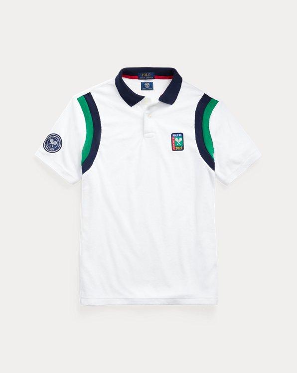 Wimbledon Custom Slim Terry Polo Shirt