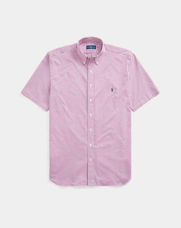 Gingham Performance Twill Shirt