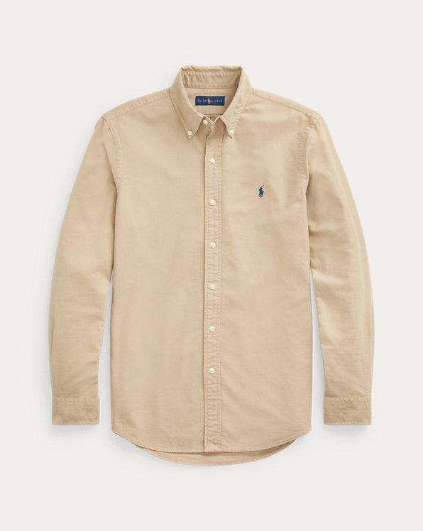 Garment-Dyed Oxford Shirt
