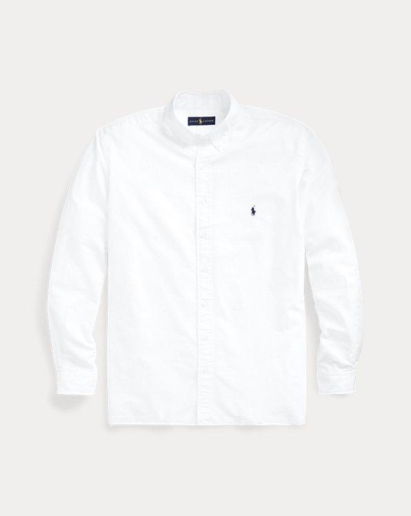 Stückgefärbtes Oxfordhemd