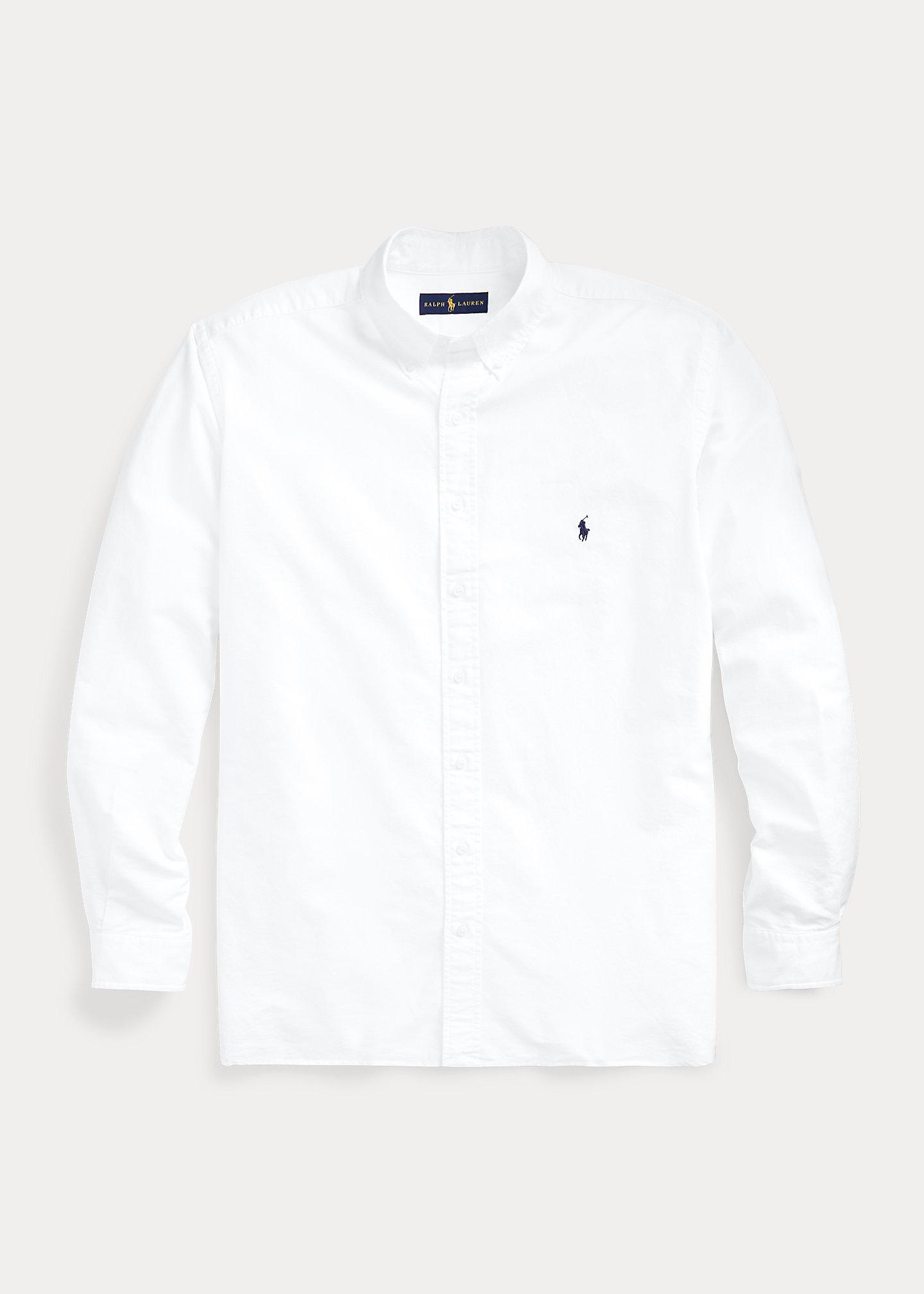 Big & Tall Garment-Dyed Oxford Shirt Ralph Lauren