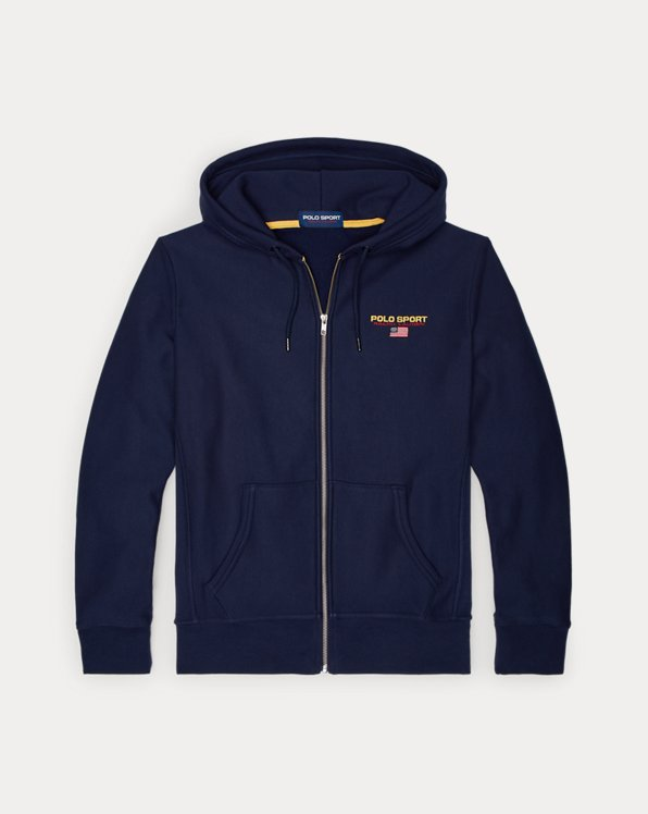 Kapuzenshirt Polo Sport aus Fleece