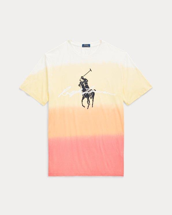 Big Pony Dip-Dyed Jersey T-Shirt