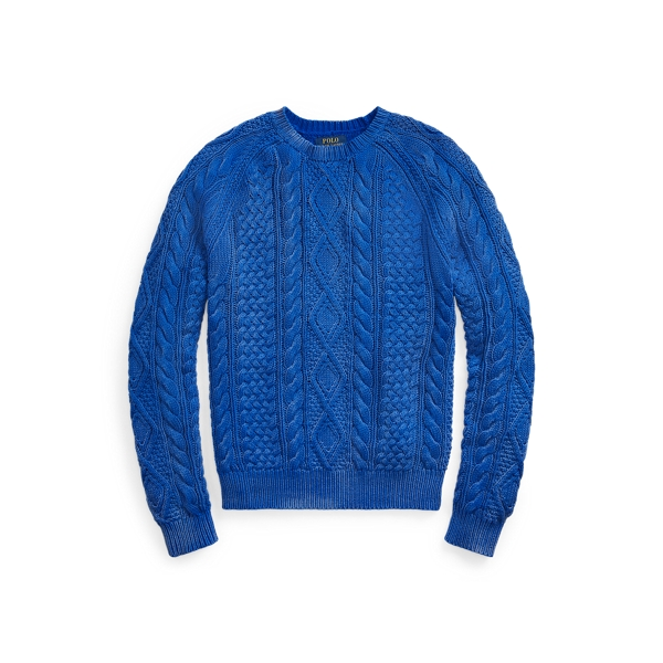 Polo Ralph Lauren Cottons THE ICONIC FISHERMAN'S SWEATER