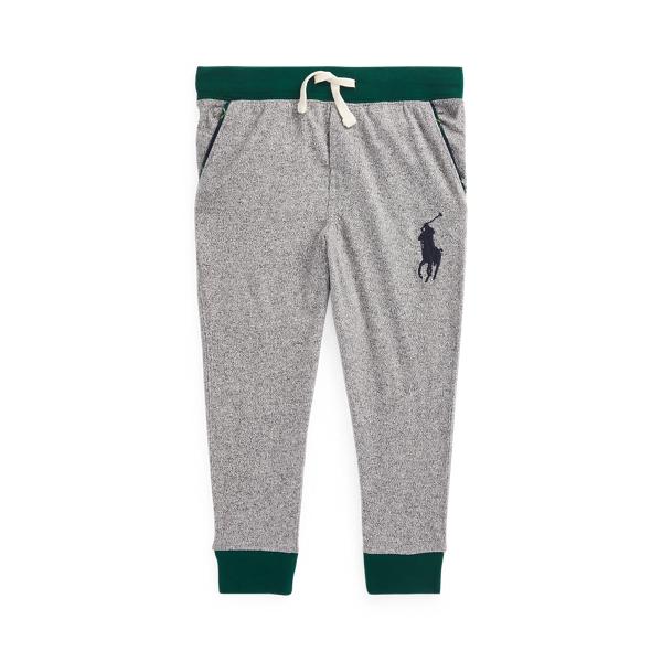 폴로 랄프로렌 남아용 조거 팬츠 Polo Ralph Lauren Big Pony Cotton Jersey Jogger Pant,Vintage Salt & Pepper