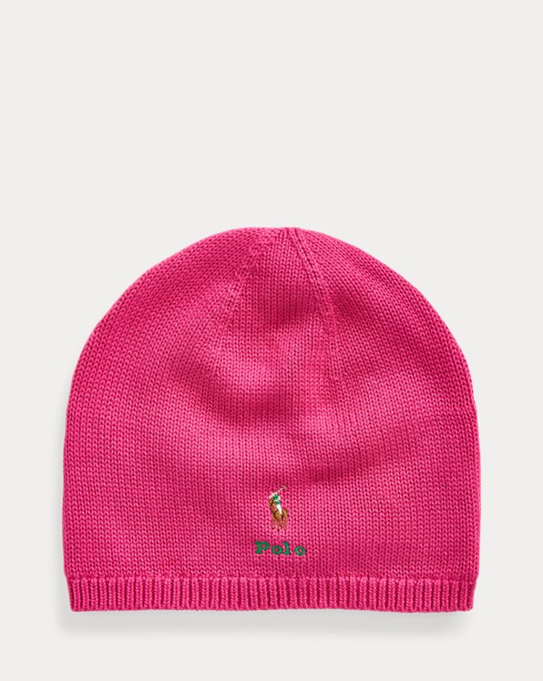 Polo Pony Cotton Beanie