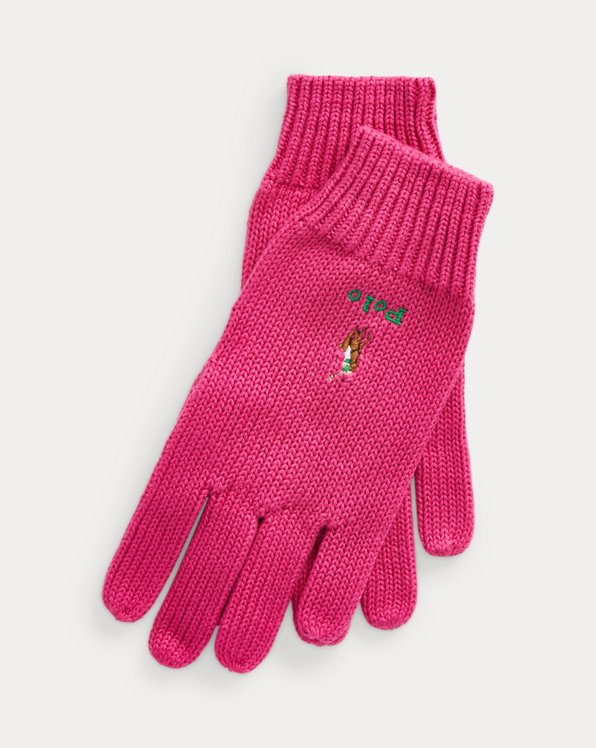 Polo Pony Cotton Gloves