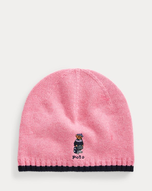 Polo Bear Cotton Beanie