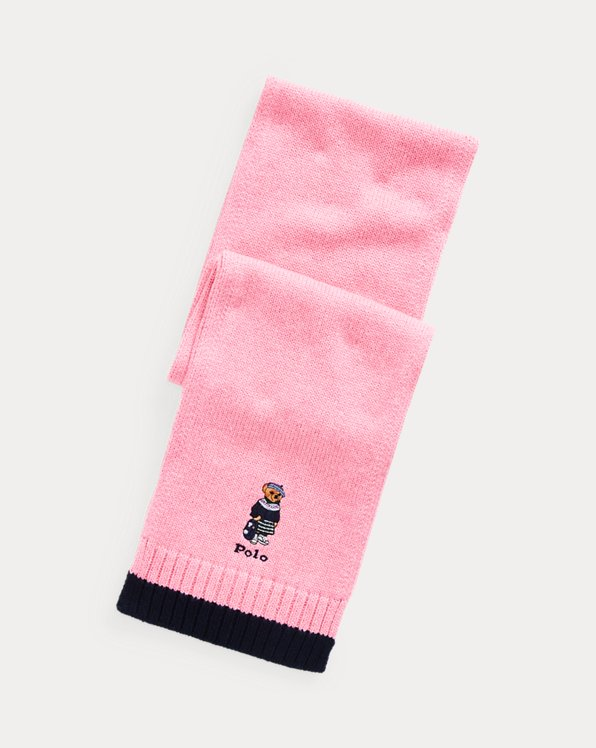 Polo Bear Cotton Scarf