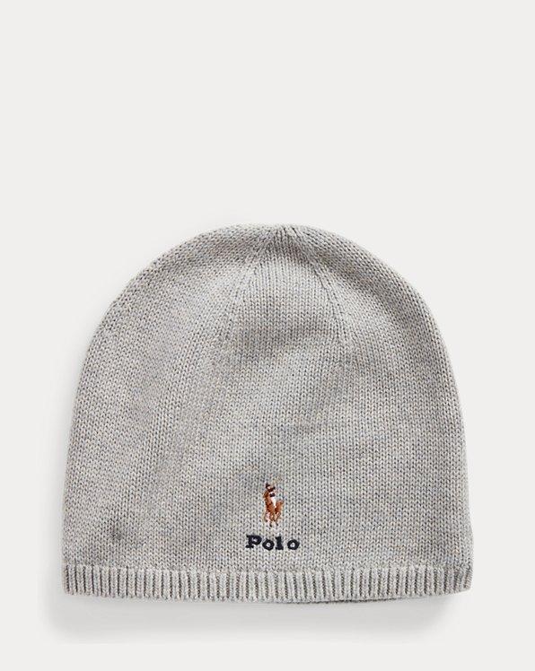 Polo Pony Cotton Beanie