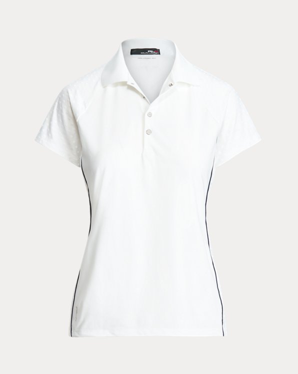 Tailored Fit Jacquard Polo Shirt