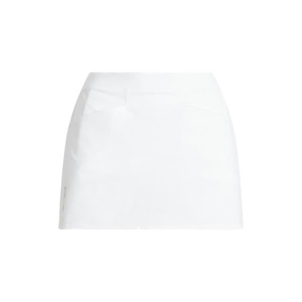 폴로 랄프로렌 Polo Ralph Lauren Pleated Four Way Stretch Skort,Pure White