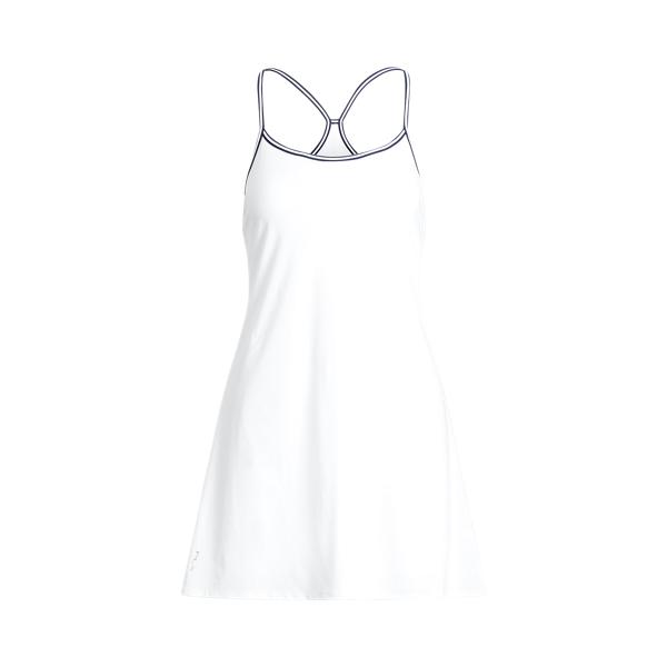 폴로 랄프로렌 Polo Ralph Lauren Racerback Dress,Pure White