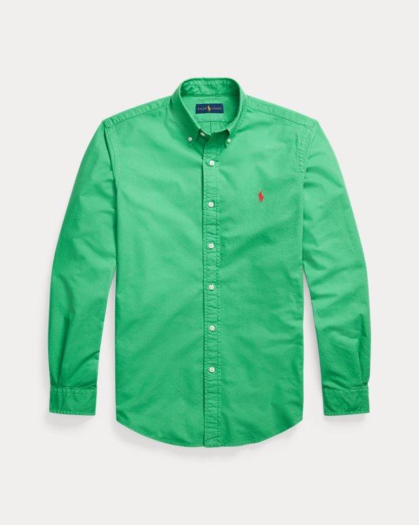 Gefärbtes Custom Fit Oxfordhemd