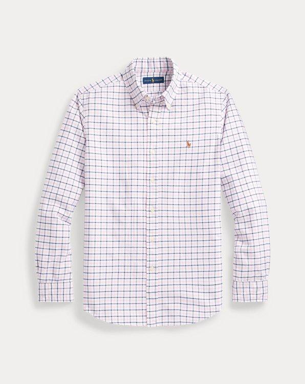 Custom-Fit Tattersall-Oxfordhemd