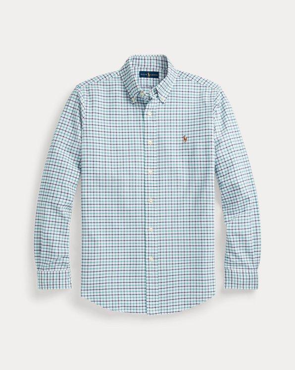 Custom Fit Tattersall Oxford Shirt