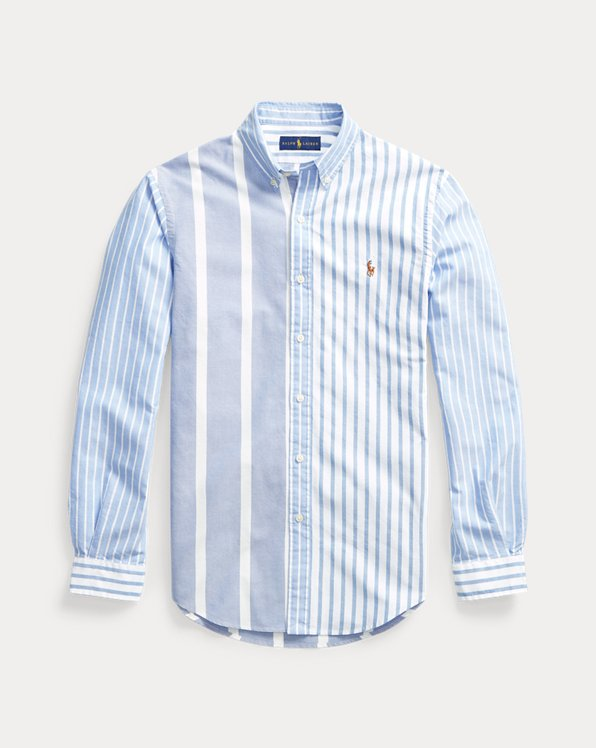 Camisa Oxford Fun de rayas Slim Fit