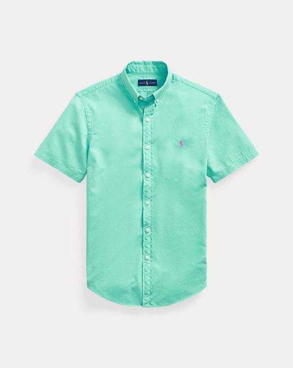 Konfektioniert gefärbtes Slim-Fit Hemd