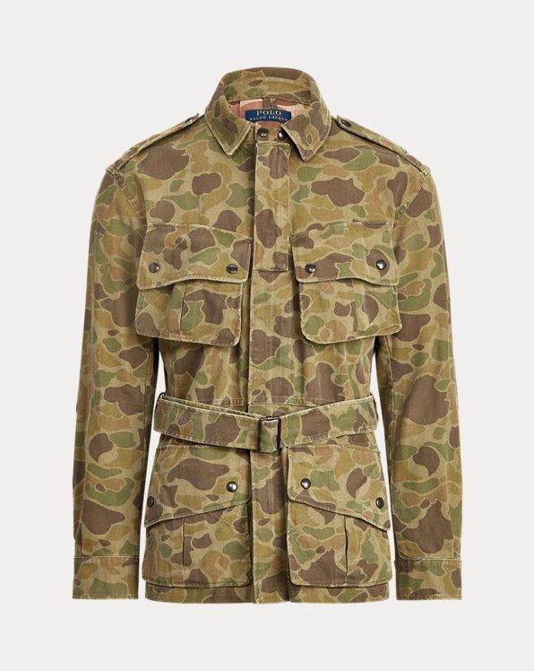 Camo Twill Utility Jacket
