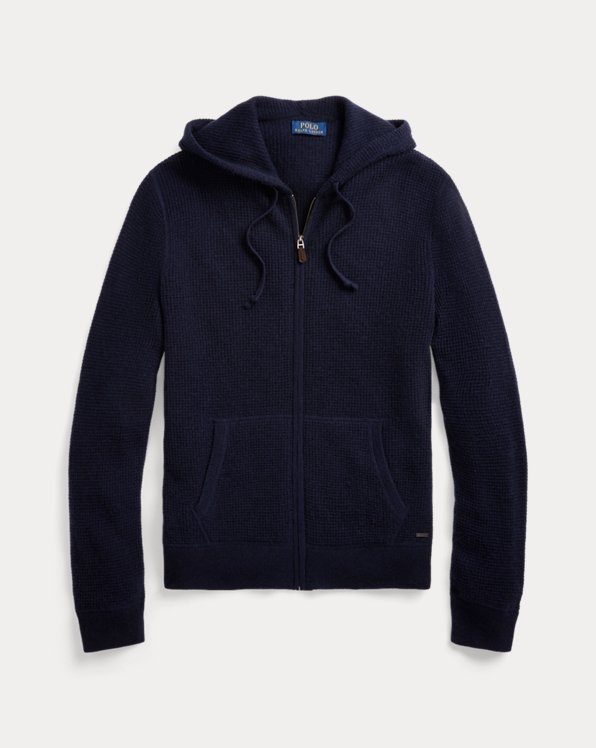 Washable Cashmere Hooded Jumper