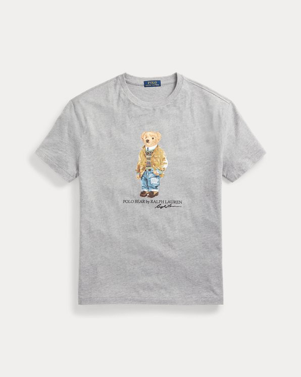 Custom Slim Fit Polo Bear T-Shirt