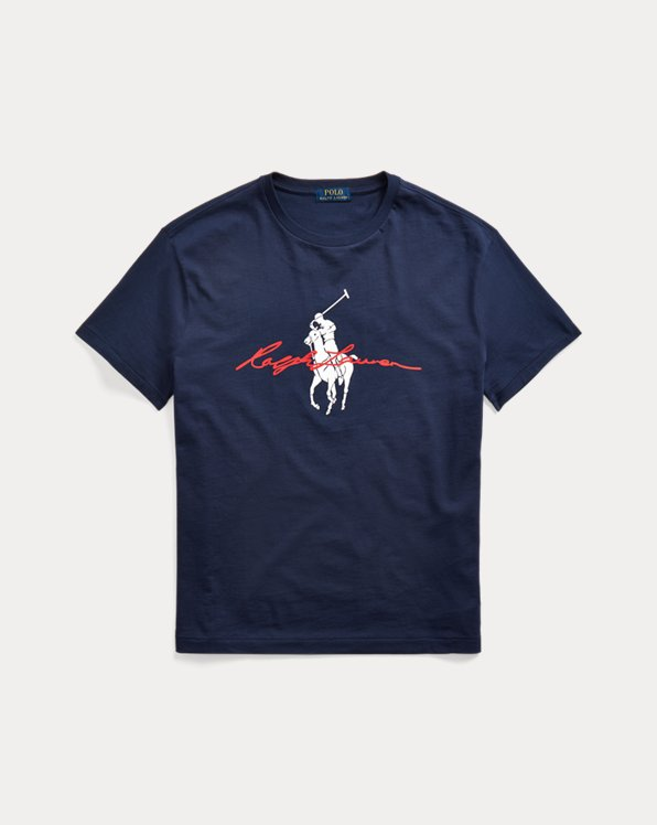 Custom Slim Fit Big Pony T-Shirt